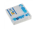 Smile Napkins 25x25cm 3-ply, 20pcs, Cornflower