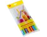 Elise Drinking straws 135 pcs, Ø 8mm, mixed colors