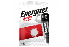 Energizer CR2032 lithium battery, 3,0V