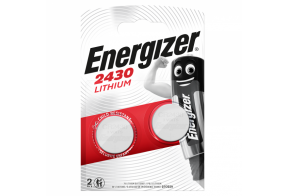 Energizer CR2032 lithium battery, 3,0V, 2 pcs/bl
