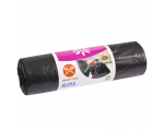 McLean draw-string garbage bags LD 60l, 10 pcs/roll
