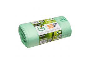 Biodegradable Waste Bags, 140L, 10pcs/roll