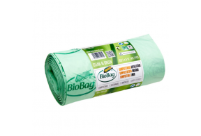 Biodegradable Waste Bags, 240L, 10pcs/roll