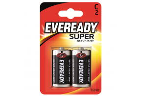Eveready Super Heavy Duty D (R20) patarei, 2 tk/bl