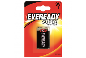 Eveready Super Heavy Duty, D (R20) paristo, 2kpl