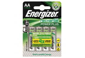 Energizer, Recharge power plus, AA/HR6 ladattavat NiMh 2000 mAh paristot, 4kpl