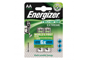 Energizer 1 hour charger + 2 AA 2300 mAh