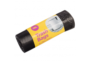 McLean Plastic garbage bags (black) HD 70l, 15 pcs/roll