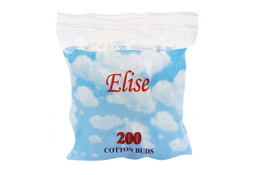 Elise cotton buds in box, 200 pcs