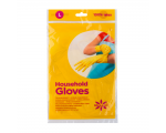 McLean-Home Rubber Gloves flock lined, L