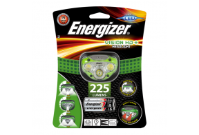 Energizer, Otsalamppu Vision HD Plus headlight sis. 3xAAA paristot