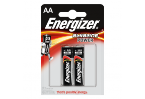 Energizer AA (LR6) Power alk.battery 2 pcs/bl
