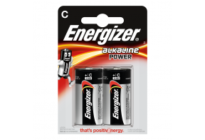 Energizer C (LR14) Power alk.battery, 2 pcs/bl