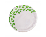 Smile Paper plates 18cm, 12 pcs, Leaves