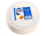Smile Бумажные тарелки, 15 см, 25шт