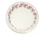 Smile Paper plates 22cm, 12 pcs, Rose