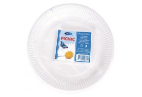 Smile Paper plates 23cm, 25 pcs