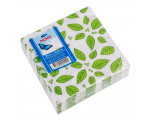 Smile Салфетки 3-слойные 24x24см, 20шт, листья