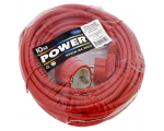 Extension lead cable 10,0m red 1,5mm