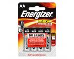Energizer AA (LR6) Max leelispatarei, 4 tk/bl