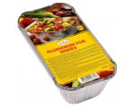 Elise aluminium foil dishes 0,5 L, 8 pcs