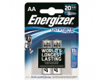 Energizer L91 AA Ultimate lithium battery, 2 pcs/bl