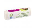 McLean, Biohajoavat jätepussit, 10L, 430x450, 10kpl/rll