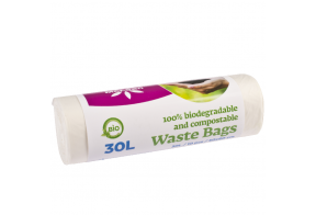 McLean Food Waste Bags, 30L, 10pcs/roll