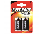 Eveready Батарейки Super Heavy Duty C (R14) , 2 шт/уп