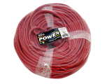 Extension lead cable 50,0m red 1,5mm